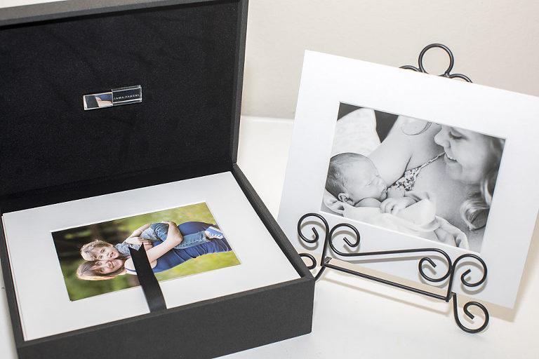 Folio Box Portrait Photography Austin lifestyle newborn fine art print Austin maternity photographer matted print