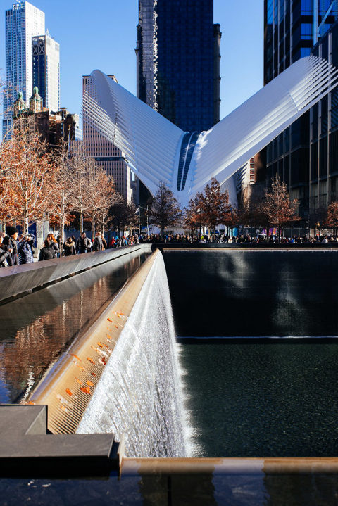 Top 10 Things to do in New York City 9/11 Memorial Waterfall