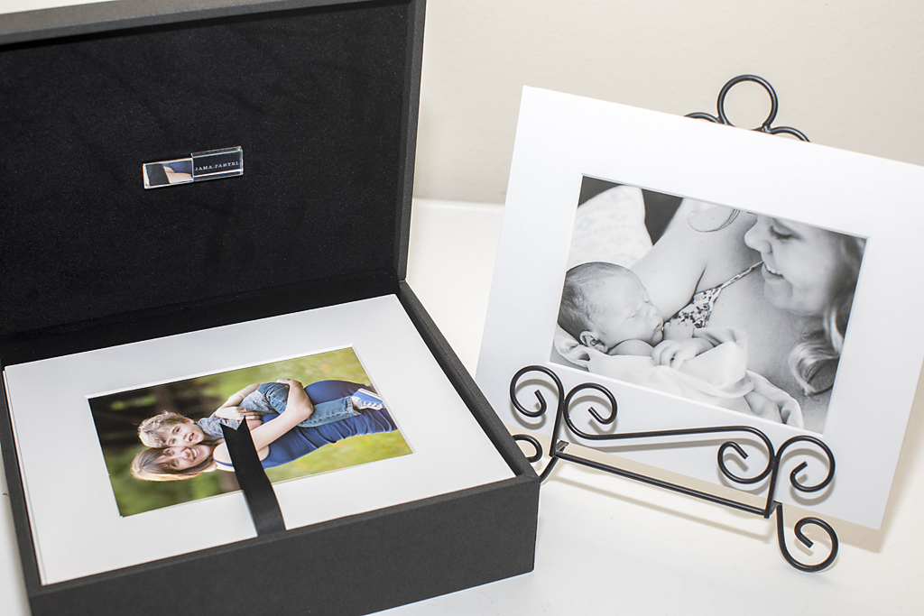 Folio Box Portrait Photography Austin lifestyle newborn fine art print Austin maternity photographer matted print