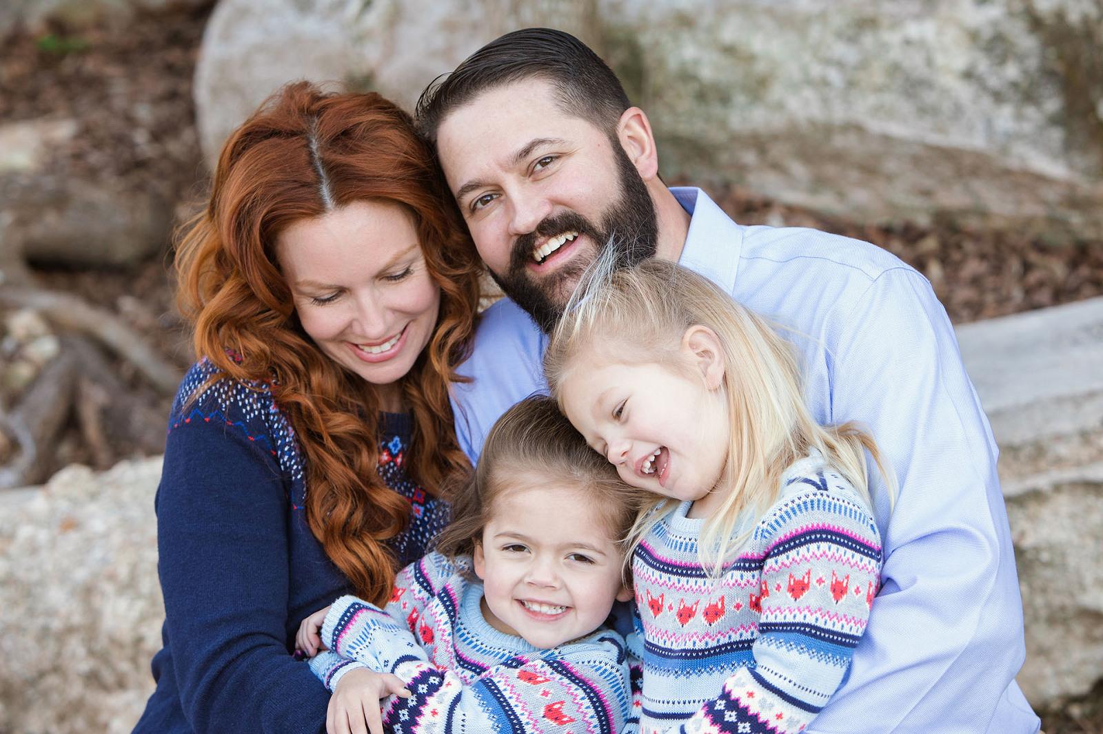 Austin Family Photographer Family of Four